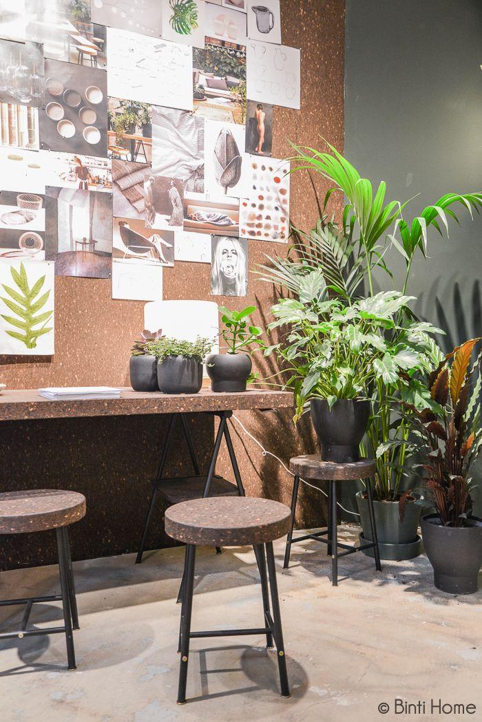 Workspace cork MIlaan Ikea temporary Ilse Crawford ©BintiHome