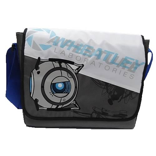 Portal 2 Wheatley Laboratories Messenger Bag My Style