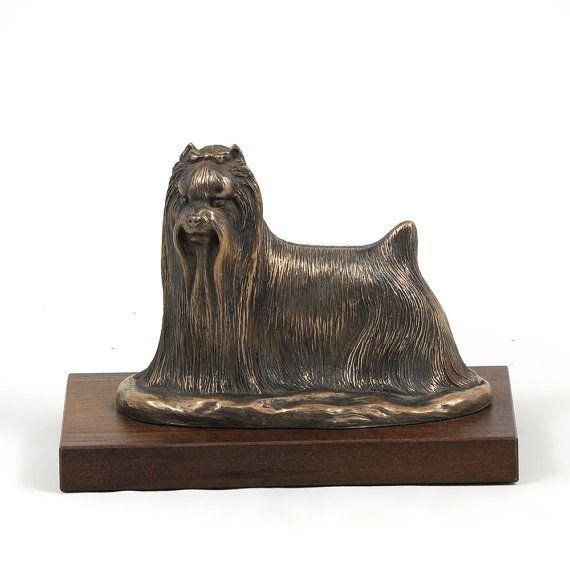 Shih-Tzu dog wooden base statue limited by ArtDogshopcenter