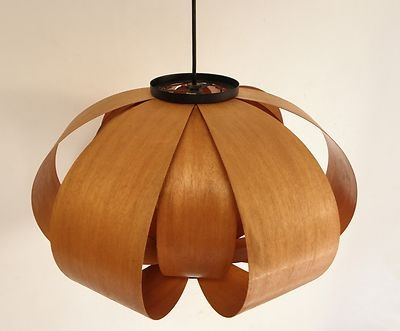 1950s Jose Antonio Coderch bentwood lamp.  Only $1200 on eBay from Philly.