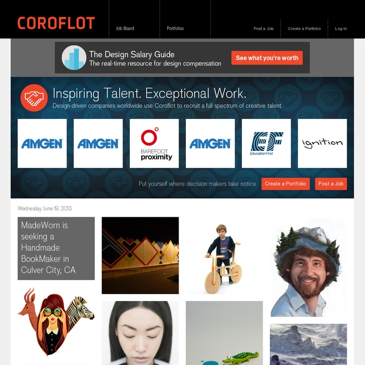 31 best images about Best Visual Portfolio Website Builders on ...