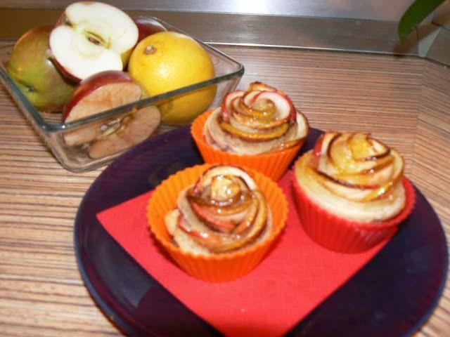 Jak vařit s láskou: Jablečné růžičky z listového těsta