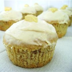 Banana muffins.  I'd like to add vanilla wafers to the bottom!