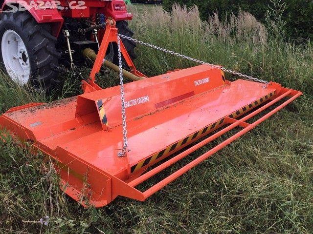 dvourotorová sekačka TLM270 za traktor - obrázek číslo 1
