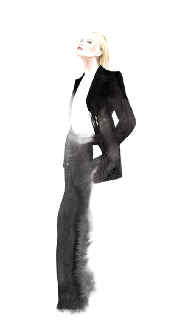Illustration.Files: F/W 2013 Collections for Joyce by António Soares (Part 1) | Draw A Dot.