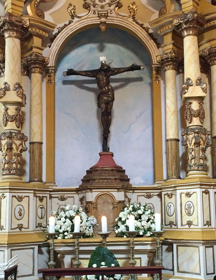 Santo Cristo de la Expiracion Venerado por los cartageneros por sus conocidos Milagros. Iglesia Santo Domingo #cartagenadeindias #colombia