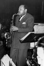 """Coleman Randolph Hawkins (November 21, 1904 – May 19, 1969), nicknamed Hawk and sometimes """"Bean"""", was an American jazz tenor saxophonist. One of the first prominent jazz musicians on his instrument, as Joachim E. Berendt explained: """"there were some tenor players before him, but the instrument was not an acknowledged jazz horn"""".[3] While Hawkins is strongly associated with the swing music and big band era, he had a role in the development of bebop in the 1940s."""