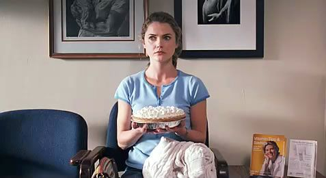I recently re-watched Waitress , a smart and quirky foodie movie from 2007. Waitress was written and directed by the late Adrienne Shelly....