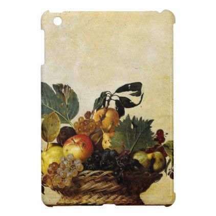 Caravaggio - Basket of Fruit - Classic Artwork Cover For The iPad Mini - wedding gifts marriage love couples