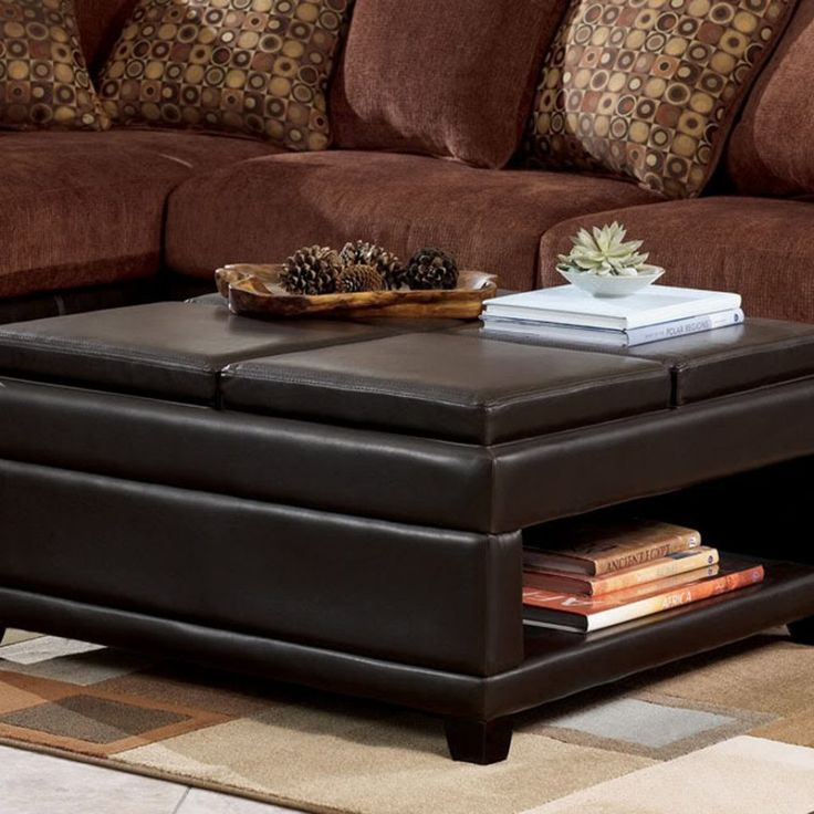 Large Ottoman Coffee Table With Storage