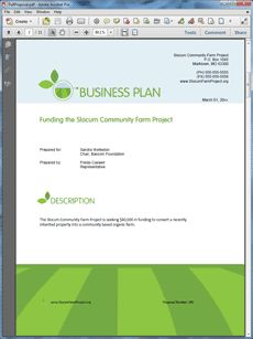 Non profit youth program business plan