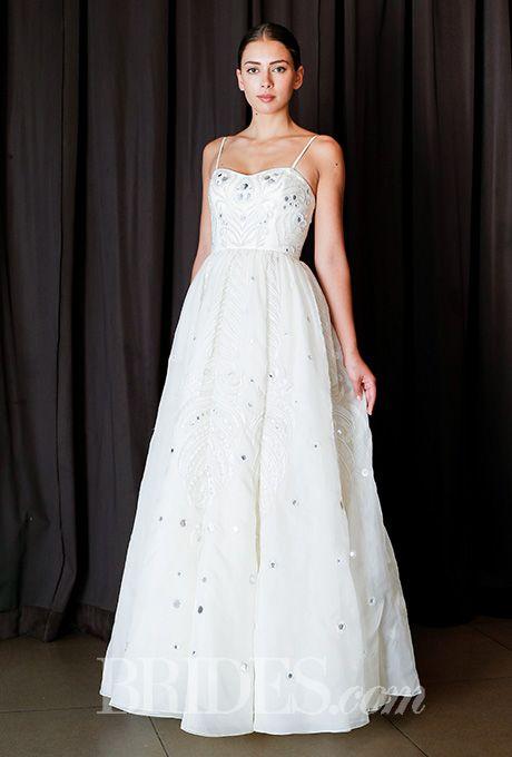 A simply lovely @TemperleyLondon wedding dress | Brides.com