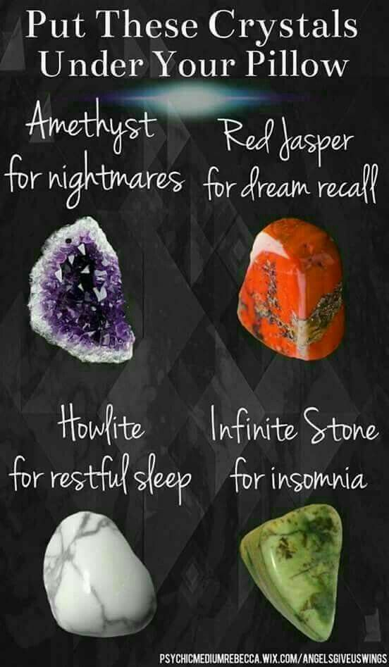 Crystals to put under your pillow