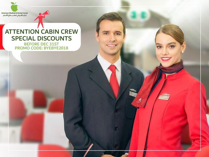 ATTENTION CABIN CREW SPECIAL DISCOUNTS BEFORE DEC 31ST