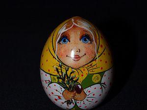 Пасхальное яйцо-матрёшка. Часть 1. Подготовка. - Ярмарка Мастеров - ручная работа, handmade