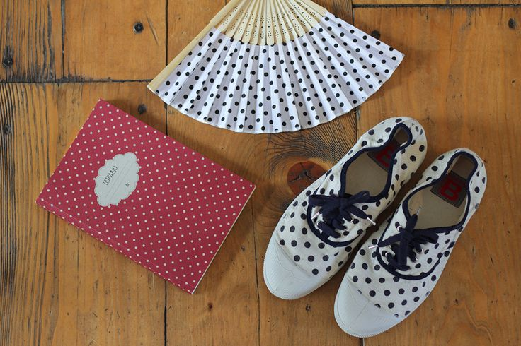 Bensimon Tennis Dots Shoes   #7thought #boutiquecafe