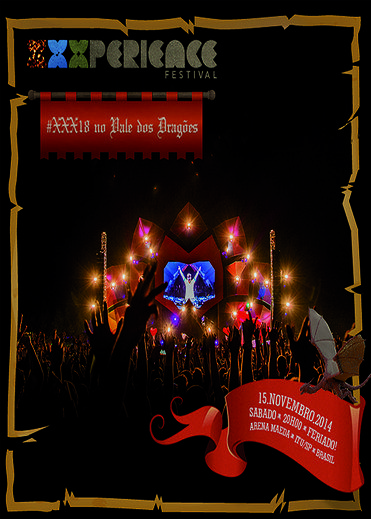 XXXPerience Festival - Arena Maeda - Itu - SP