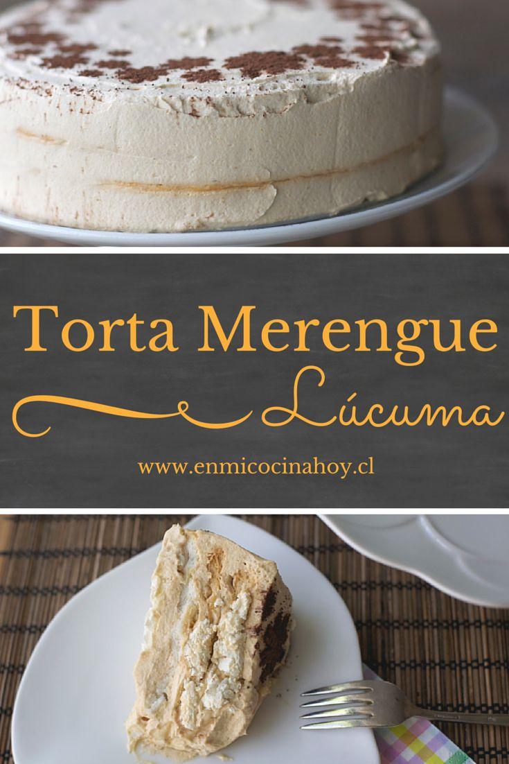 La torta de merengue lúcuma es una de las más tradicionales en Chile. En EEUU…