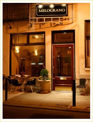Melograno - Italian BYOB in Philly's Rittenhouse Square. #philly #restaurants