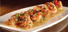 "Cooper's Hawk: Try this"" Mexican Drunken Shrimp"" appetizer - Delicious"