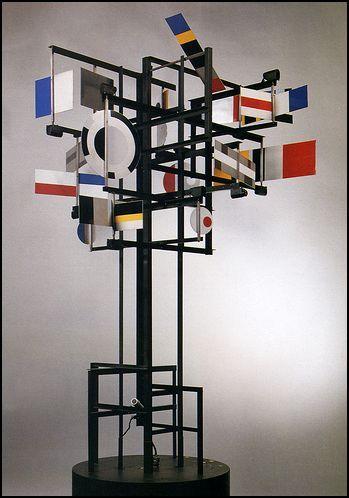 Cysp I, Nicolas Schöffer, 1956