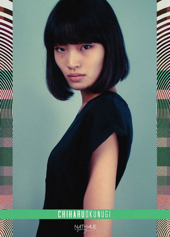 chiharu okunugi japanese high fashion model obsession