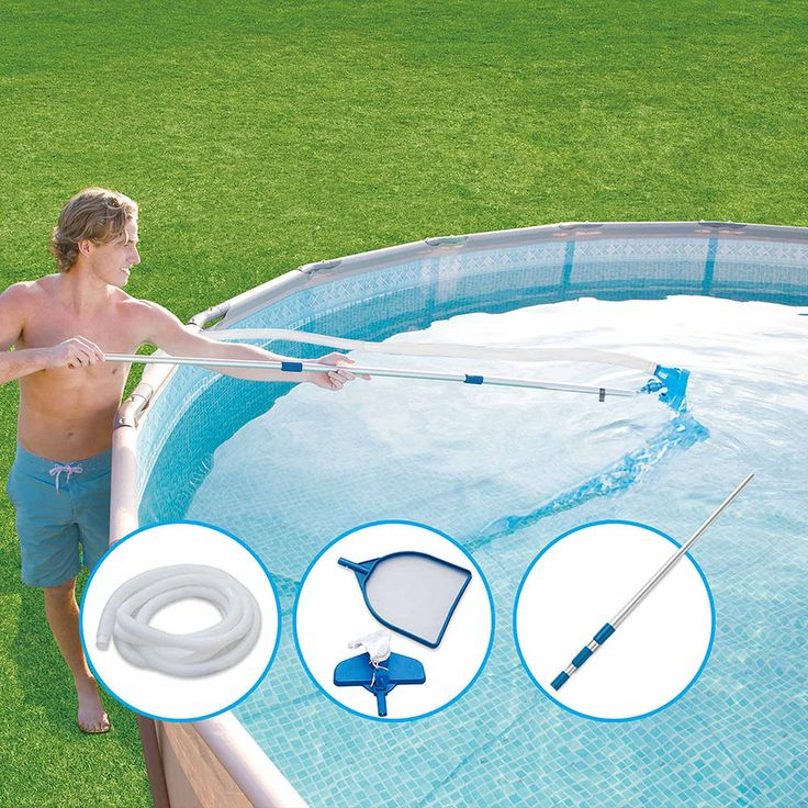 Outdoor Swimming Pool Metal Frame Family Pool Set Durable Above Ground 15x48 New #OutdoorSwimmingPoolFamily