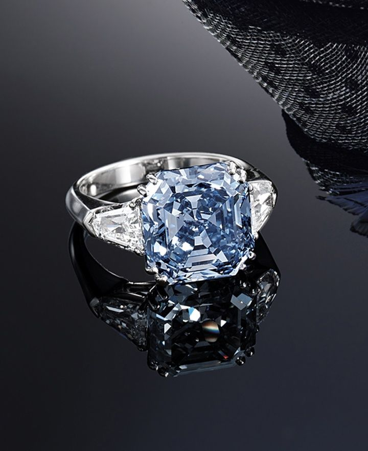 Best 25 Blue Diamond Rings Ideas On Pinterest Blue