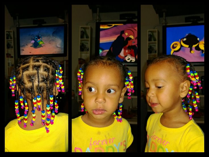 beads, Braids for kids, braids, singles, kids hair styles, Natural curlies, Natural hair, kinky curly hair, kinky hair, curly hair