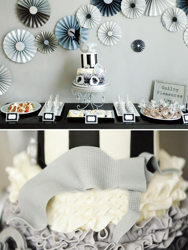 50 shades of grey party...we totally need to do this for your mom@Kamee Collins