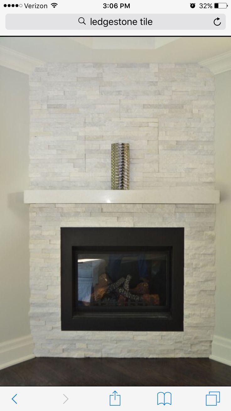 Ledgestone Wallcladding Fireplace   Floor Tiles   Toronto   Hermes Mozaik  Stone Tile And Marble