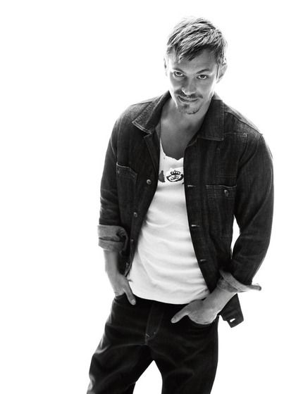 Joel Kinnaman. Something just makes him irresistible.