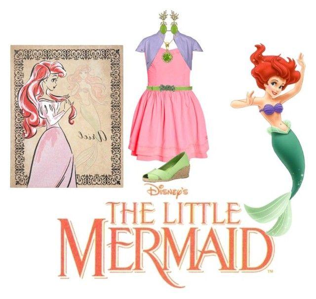 """Disney Princess: Ariel"" by annie-john on Polyvore"