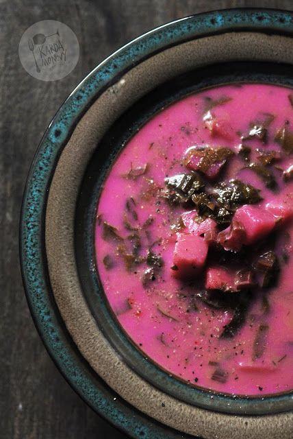 Kardamonovy: Zupa z botwinki z ziemniakami