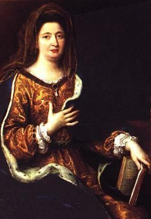 Mme de Maintenon: portrait peint par Mignard en 1694.