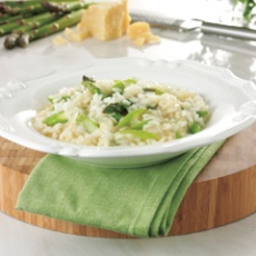 Asparagus Risotto With Chervil | food | Pinterest