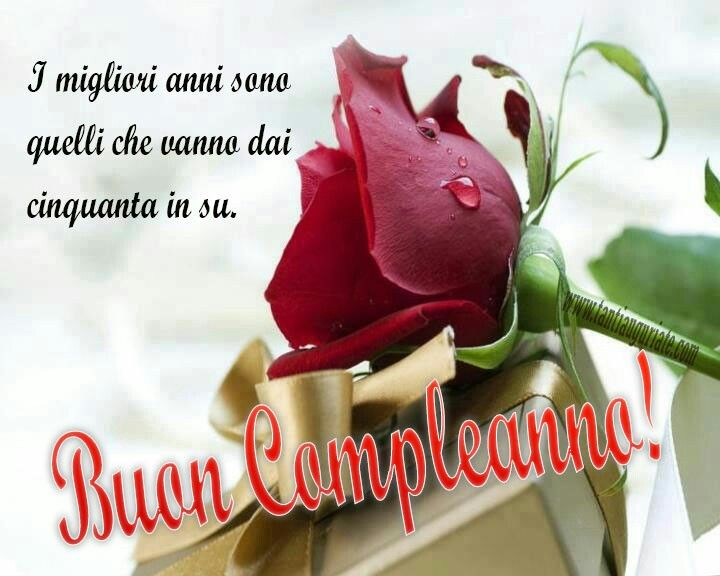 Souvent 24 best Buon compleanno images on Pinterest | Happy birthday  YU98