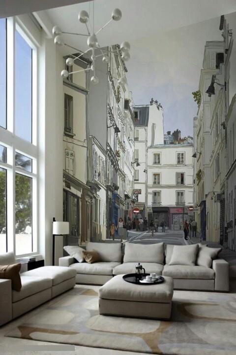 40 besten Fototapeten 3D \ Vliestapeten 3D Bilder auf Pinterest - tapeten wohnzimmer ideen