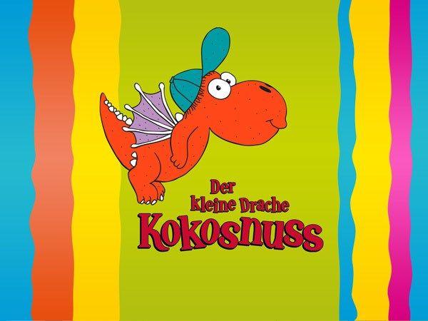 """Kinder-App """"Der kleine Drache Kokosnuss"""": Kinderapp zum Lernen mit Minispielen"""