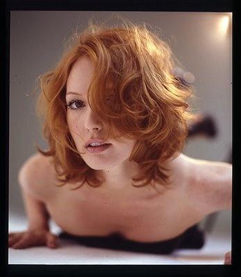 Alicia Witt - Short red hair!