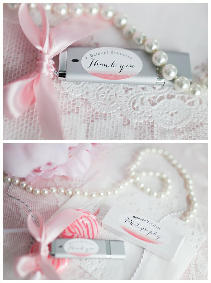 pink usb drive packaging