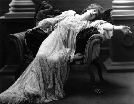 A woman in her homewear, XIX century.