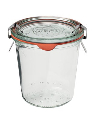 weck jars. had no idea crate and barrel carries them. holla.