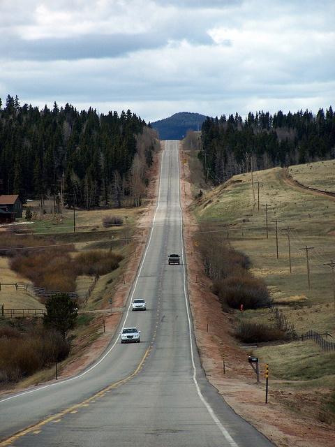 Colorado Route 67 heading south from Woodland Park by Jeremai Smith, via Flickr