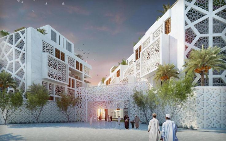 Muttawar Sustainable Residential Community in Muscat, Oman by Klingmann Architects + Brand Consultants