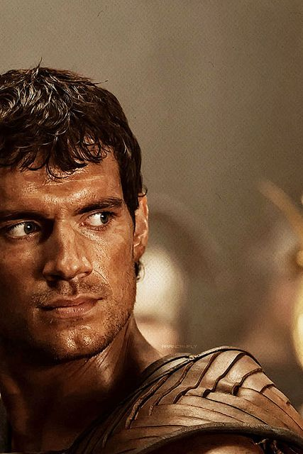 "Henry Cavill as ""Theseus"""