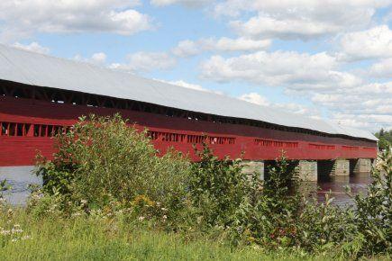 Fermeture du pont couvert Marchand