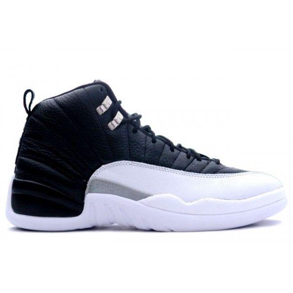 130690 001 Air Jordan Retro 12 (XII) Playoffs Black Varsity Red White cheap  Jordan If you want to look 130690 001 Air Jordan Retro 12 (XII) Playoffs  Black ...
