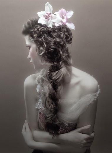 Flowers in hair <3