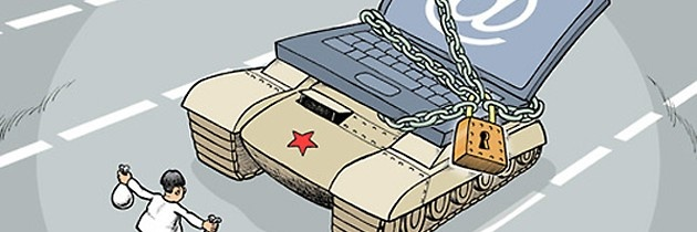 China controlling the internet